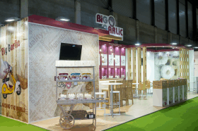 Stand Big Garlic en Fruit 2015